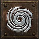 Umiejętność Druida w Diablo II - Huragan