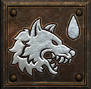 Umiejętność Druida w Diablo II - Wścieklizna