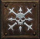 Umiejętność Druida w Diablo II - Duch Kolców
