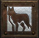Umiejętność Druida w Diablo II - Przywołanie Upiornego Wilka