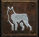 Umiejętność Druida w Diablo II - Przywołanie Ducha Wilka