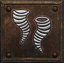 Umiejętność Druida w Diablo II - Wir
