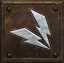 Umiejętność Czarodziejki w Diablo II - Wiązka Błyskawic