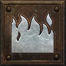 Umiejętność Czarodziejki w Diablo II - Ognista Kula