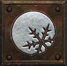 Umiejętność Czarodziejki w Diablo II - Zamarznięta Kula