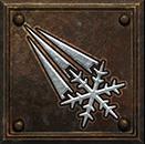 Umiejętność Czarodziejki w Diablo II - Lodowy Pocisk
