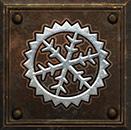 Umiejętność Paladyna w Diablo 2 - Święty chłód