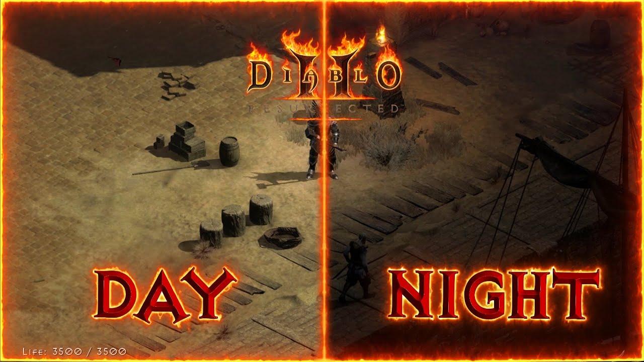 diablo 2 resurrected cykl dnia i nocy