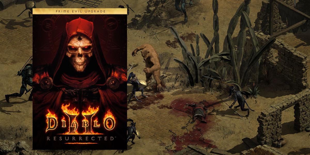 diablo 2 resurrected bez wersji pudełkowej