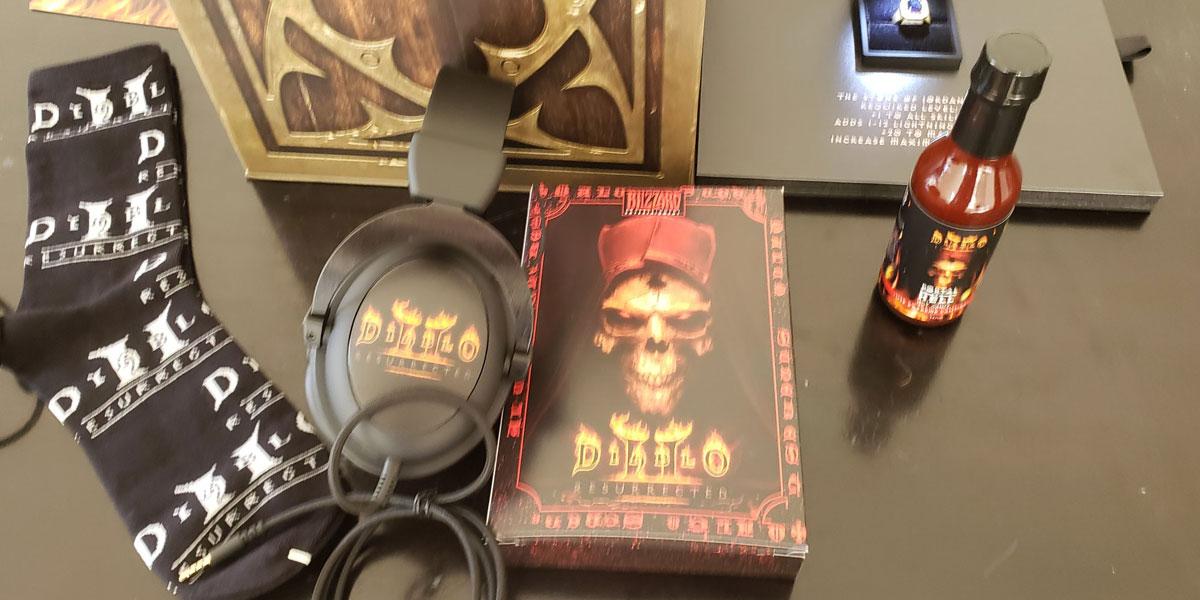 pudełkowa wersja diablo 2 resurrected