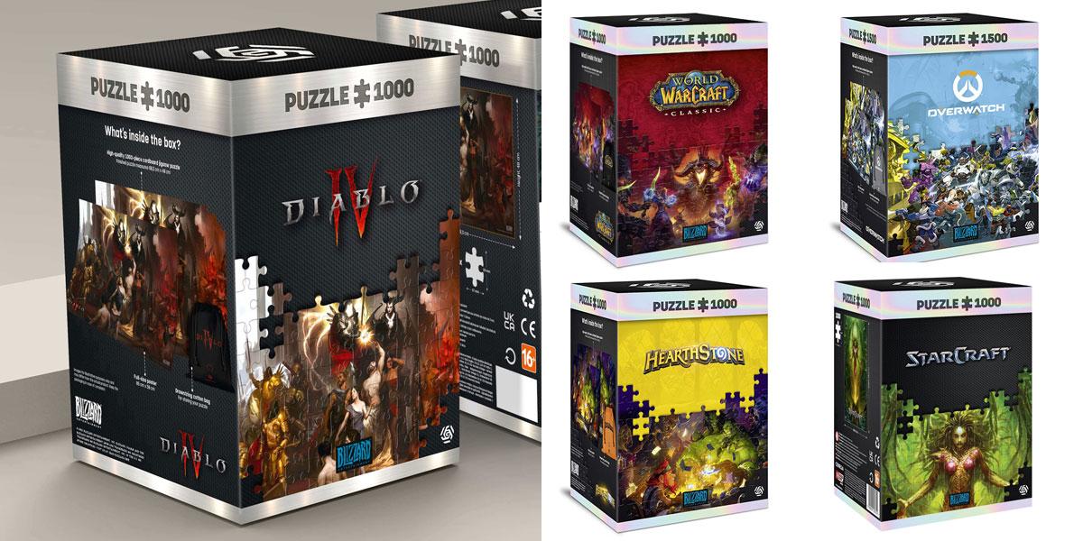 przedsprzedaż nowych puzzli gier blizzarda