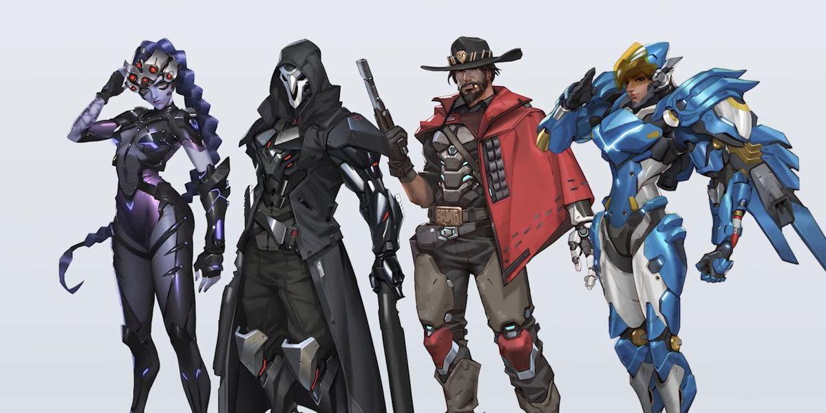 skiny z overwatch 1 pojawią się w overwatch 2